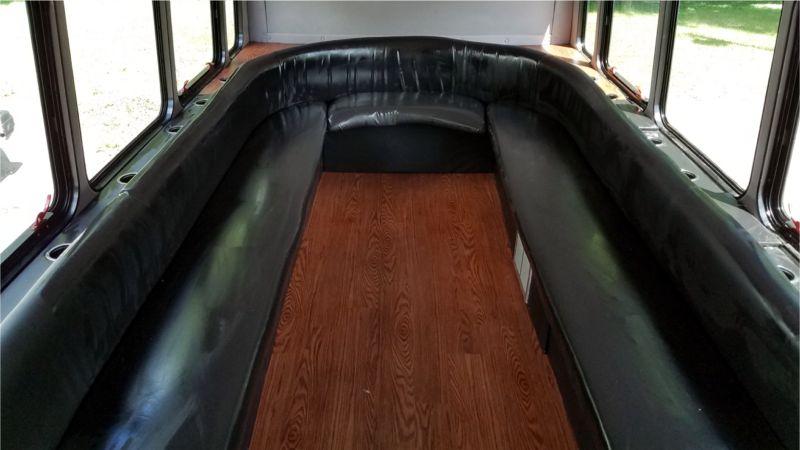 Luxury Bus Interior photo 4